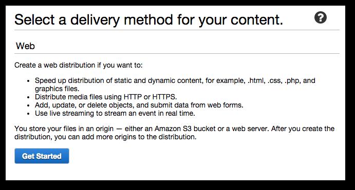 Eko Docs Setup Instructions Amazon Cloudfront